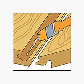 Применение пропитки для ламината
